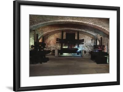 Presses in the Martini and Rossi Museum, Pessione, Piedmont, Italy--Framed Photographic Print