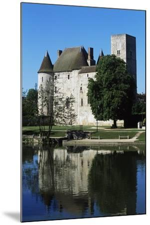 Chateau of Nemours Seen from Loing River, Ile-De-France, France--Mounted Photographic Print