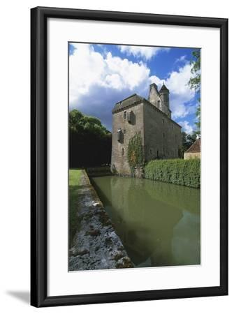 Chateau of Thenissey, Founded in 15th Century, Burgundy, France--Framed Photographic Print
