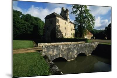 Chateau of Thenissey, Founded in 15th Century, Burgundy, France--Mounted Photographic Print