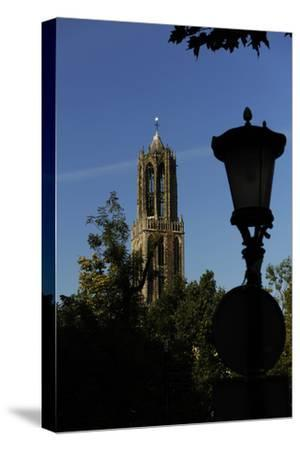 Tower of the Cathedral of Saint Martin, 14th Century, Utrecht--Stretched Canvas Print
