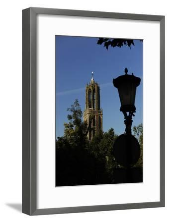 Tower of the Cathedral of Saint Martin, 14th Century, Utrecht--Framed Photographic Print