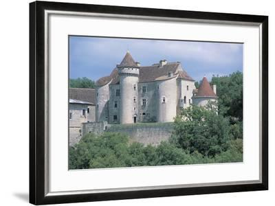 Castle in a Forest, Vaillac Castle, Aquitaine, France--Framed Photographic Print