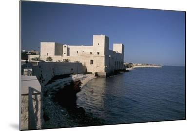 Castle at the Waterfront, Trani, Puglia, Italy--Mounted Photographic Print