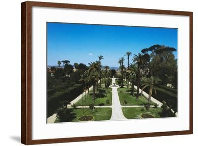 Gardens of Quirinal Palace, Rome, Lazio, Italy--Framed Photographic Print