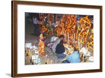 Day of the Dead Celebration, Janitizio, Michoacan, Mexico--Framed Photographic Print