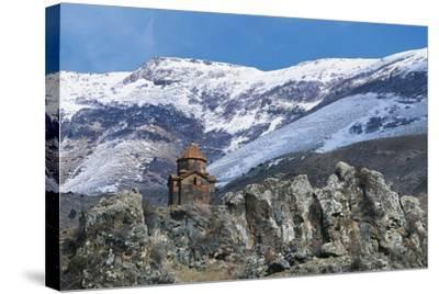 Surb Sarkis Church, Bjni, Armenia--Stretched Canvas Print