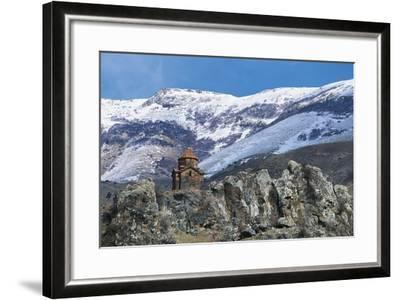 Surb Sarkis Church, Bjni, Armenia--Framed Photographic Print