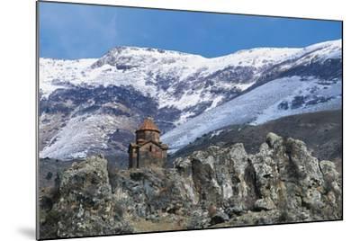 Surb Sarkis Church, Bjni, Armenia--Mounted Photographic Print