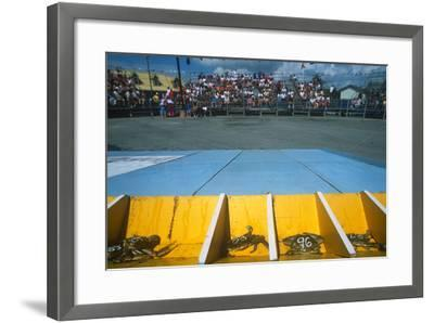 Crab Race, Crisfield Hard Crab Derby Festival, Eastern Shore, Maryland--Framed Photographic Print