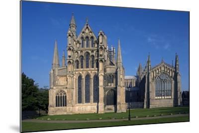 Ely Cathedral (1085), Cambdridgeshire, United Kingdom--Mounted Photographic Print