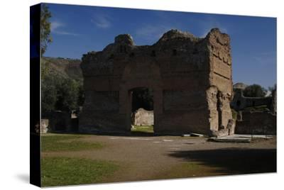Hadrian's Villa, the Palace, 2nd Century, Italy--Stretched Canvas Print