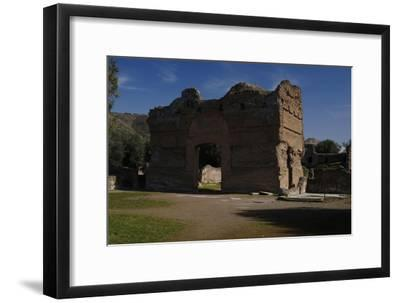 Hadrian's Villa, the Palace, 2nd Century, Italy--Framed Photographic Print