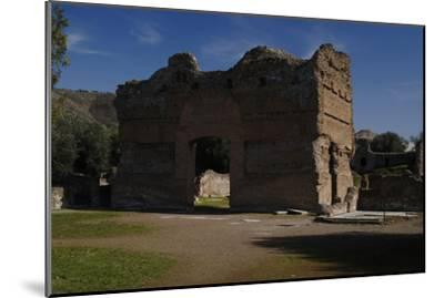Hadrian's Villa, the Palace, 2nd Century, Italy--Mounted Photographic Print
