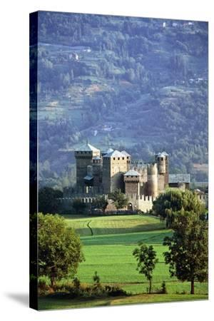 Fenis Castle (13th-18th Century), Aosta Valley, Italy--Stretched Canvas Print