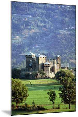 Fenis Castle (13th-18th Century), Aosta Valley, Italy--Mounted Photographic Print