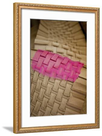Work of Gérard Lognon, Pleat Maker for over Four Generations--Framed Photographic Print