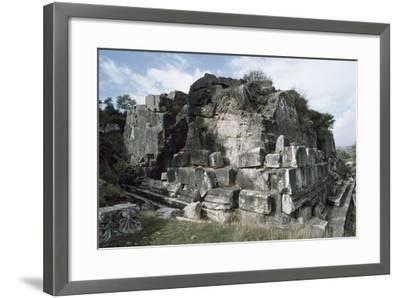 Belevi Mausoleum, 3rd Century Bc, Turkey--Framed Premium Photographic Print