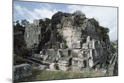 Belevi Mausoleum, 3rd Century Bc, Turkey--Mounted Photographic Print