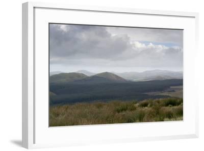 The Cheviot Hills, Seen from Carter Bar, Scottish/English Border, UK--Framed Photographic Print