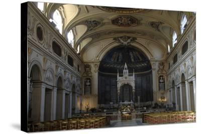 Italy. Rome. Basilica of Saint Cecilia in Trastevere--Stretched Canvas Print