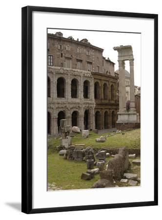 Italy, Rome, Theatre of Marcellus, 1st Century BC--Framed Photographic Print