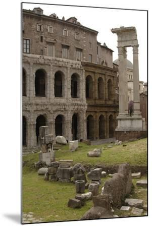 Italy, Rome, Theatre of Marcellus, 1st Century BC--Mounted Photographic Print