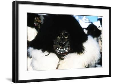 Roitschaggatta Celebration, Lotschental Valley, Willer, Switzerland--Framed Photographic Print