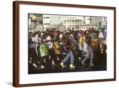 Mardi Gras Carnival, Port-De-France, Martinique, French West Indies--Framed Photographic Print
