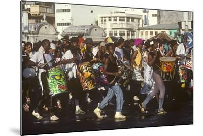 Mardi Gras Carnival, Port-De-France, Martinique, French West Indies--Mounted Photographic Print