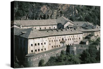 Fort Bard, 19th Century, Aosta Valley, Italy--Stretched Canvas Print