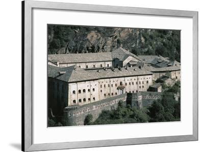 Fort Bard, 19th Century, Aosta Valley, Italy--Framed Photographic Print