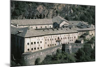 Fort Bard, 19th Century, Aosta Valley, Italy--Mounted Photographic Print
