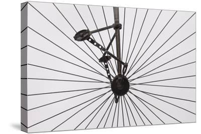 A Columbia High Wheel Bicycle--Stretched Canvas Print