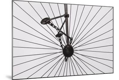 A Columbia High Wheel Bicycle--Mounted Photographic Print