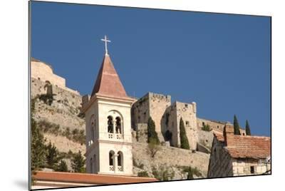 Klis Fortress, Near Split (Split), Dalmatia, Croatia--Mounted Photographic Print