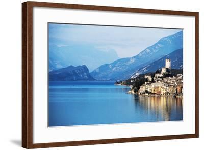 View of Malcesine, Lake Garda, Veneto, Italy--Framed Photographic Print