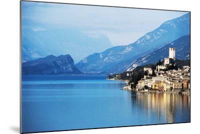 View of Malcesine, Lake Garda, Veneto, Italy--Mounted Photographic Print