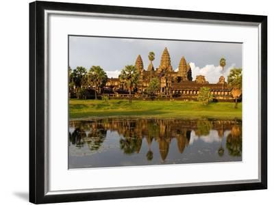 Angkor Wat Temple, Cambodia--Framed Photographic Print