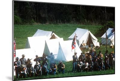 Civil War Reenactment, Tipton Haynes Farm, Johnson City, Tennessee--Mounted Photographic Print