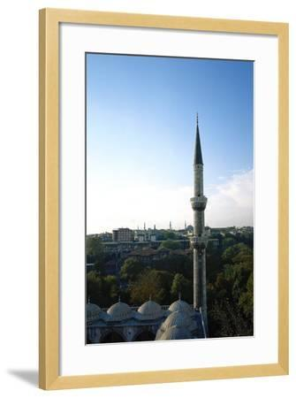 Blue Mosque, 17th Century, Istanbul, Turkey--Framed Photographic Print