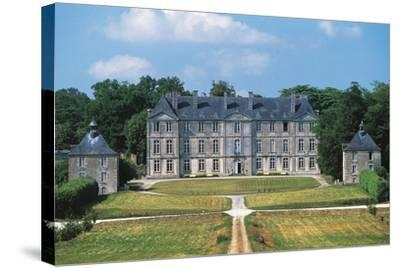 Chateau of Loyat, 18th Century, Brittany, France--Stretched Canvas Print