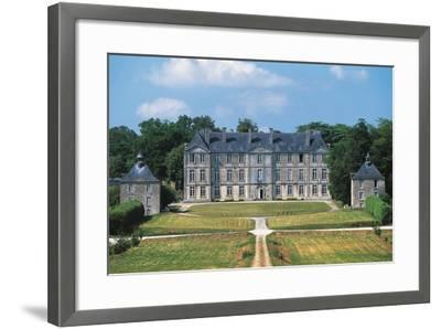 Chateau of Loyat, 18th Century, Brittany, France--Framed Photographic Print