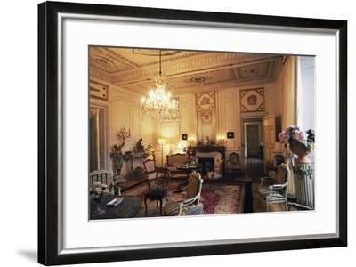 Room in Chateau of Filain, Franche-Comte, France--Framed Photographic Print