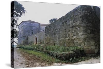 Chateau of Monluc, Estillac, Aquitaine, France--Stretched Canvas Print
