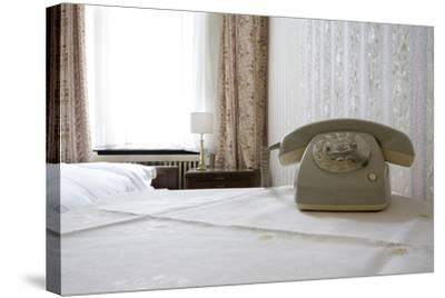 Telephone in a Room, Berlin, 2009--Stretched Canvas Print