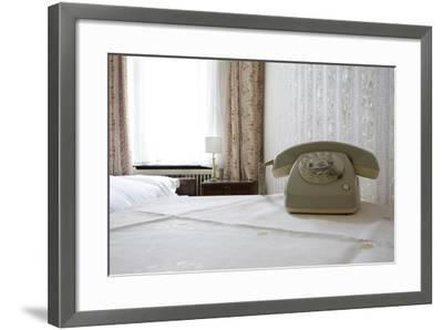 Telephone in a Room, Berlin, 2009--Framed Photographic Print