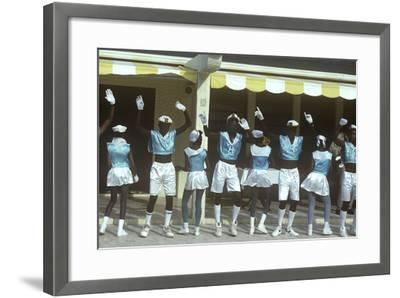 Beauty Contest Festivities, Carnival, Anguilla--Framed Photographic Print