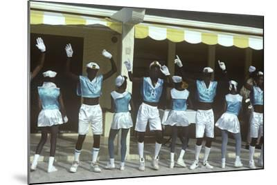 Beauty Contest Festivities, Carnival, Anguilla--Mounted Photographic Print