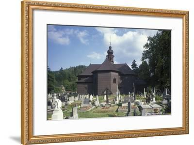 Church of Our Lady of Snows at Velke Karlovice--Framed Photographic Print